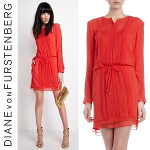 Diane von Furstenberg New Slice Drawstring Dress 4